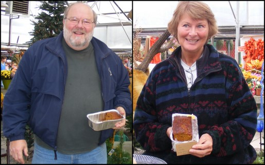 Contest Winners - Larry Jennings and Third Place Winner Enid Nolan