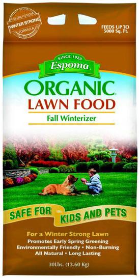 Espoma Organic Lawn Fall