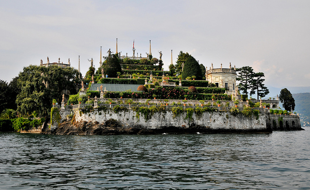 isola madre island shot