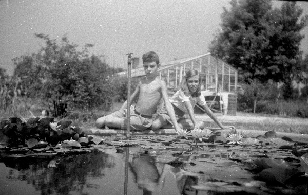 August 1943 - Our Lily Pond - Rose Areys - Sunday Morning