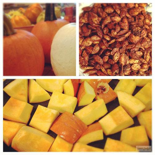 Homemade Roasted Pumpkin