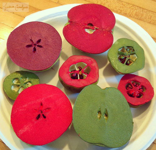 Apple-and-Quince-Stamps