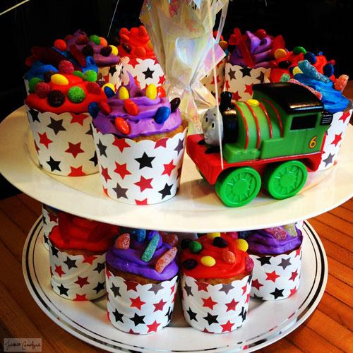 Choo-Choo-Cupcakes