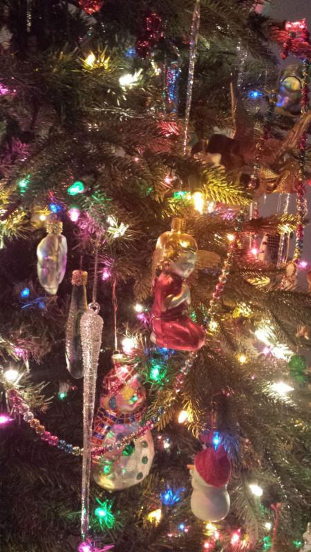 Christmas Ornaments Backwards