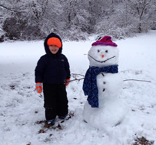 Aaron-and-snowman