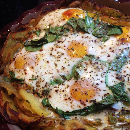 Merry Morning Egg Frittata