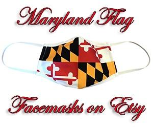 MD flag facemasks