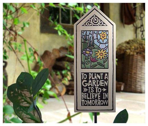 Ceramic Garden Tile
