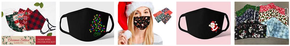 christmas facemasks