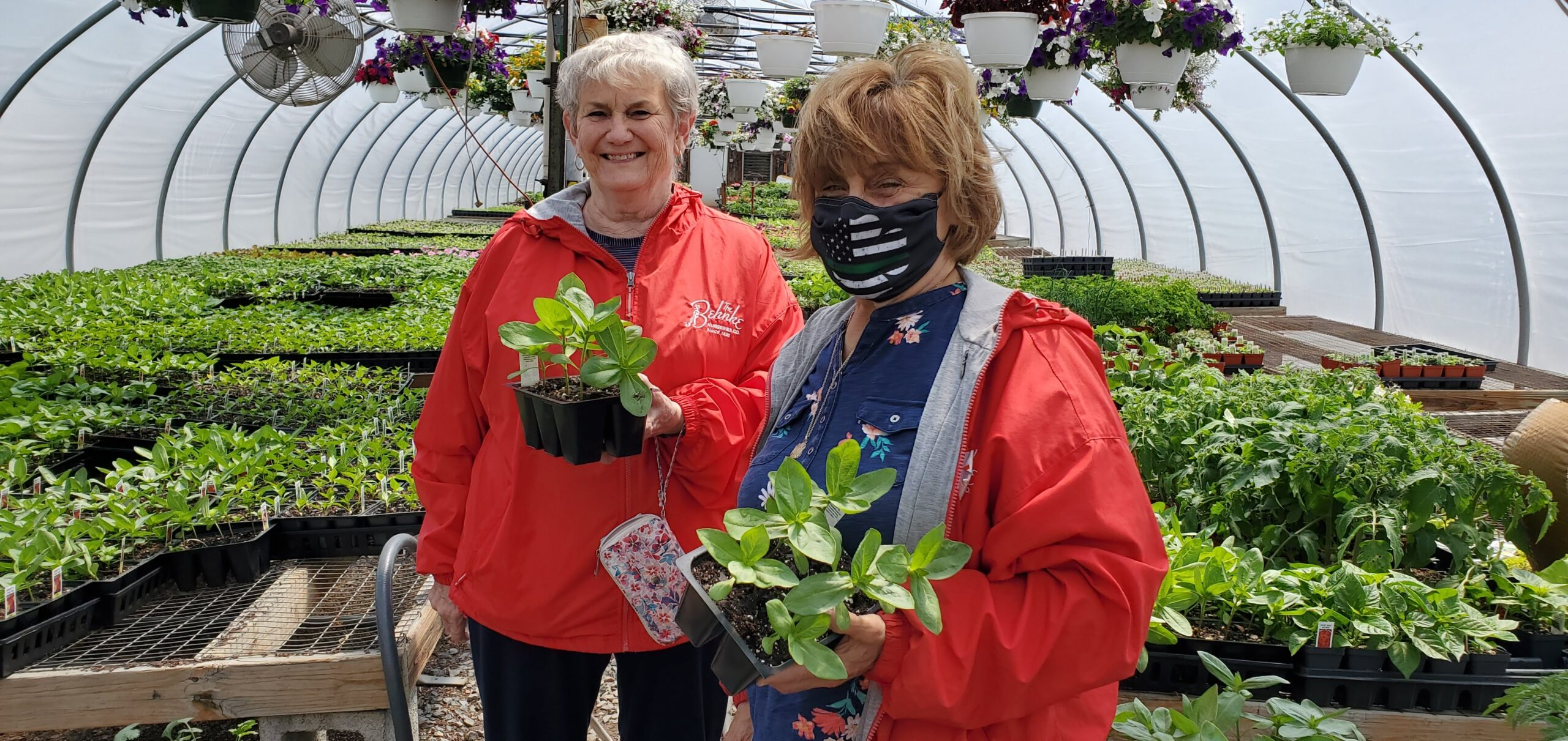 Becky And Anita Visiting Greenway Farms In Cooksville, Maryland