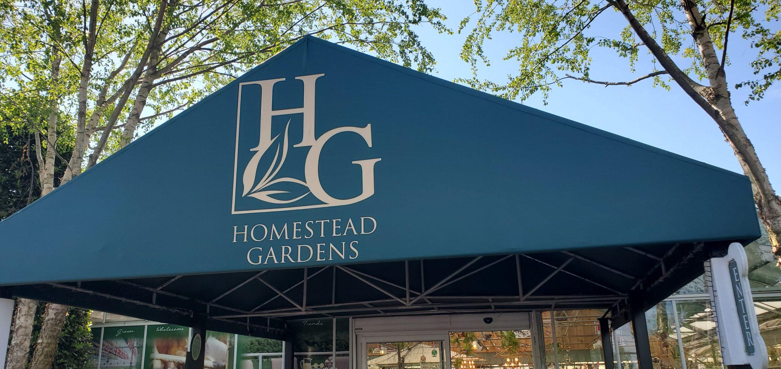 Homestead Gardens entrance Sign