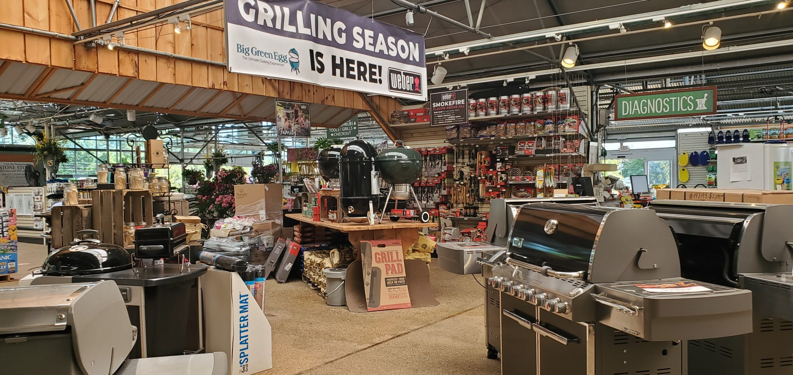 Homestead Gardens BBQ Area