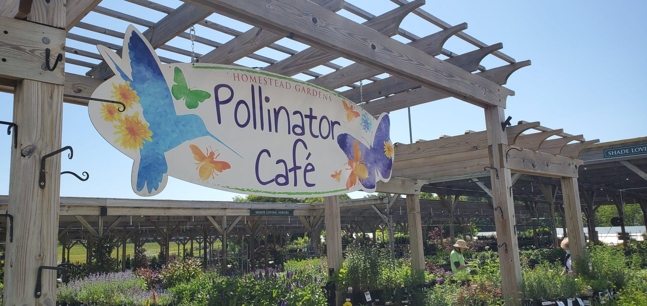 Homestead Gardens Pollinator Cafe