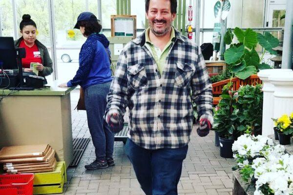 Pete Exis At Behnke Nurseries